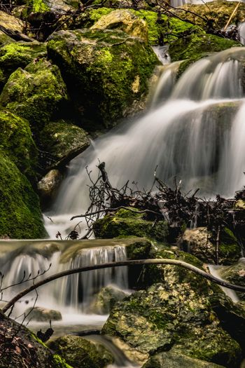 Water Tree Plant Scenics - Nature Nature Beauty In Nature Waterfall Growth Dam Motion No People Outdoors Long Exposure Sunlight Hydroelectric Power Flowing Day Blurred Motion Falling Water Flowing Water