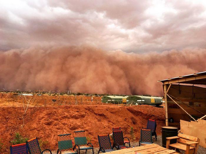 Africa Afrique Tempête Sable Sand