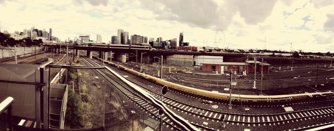 North Melbourne train station