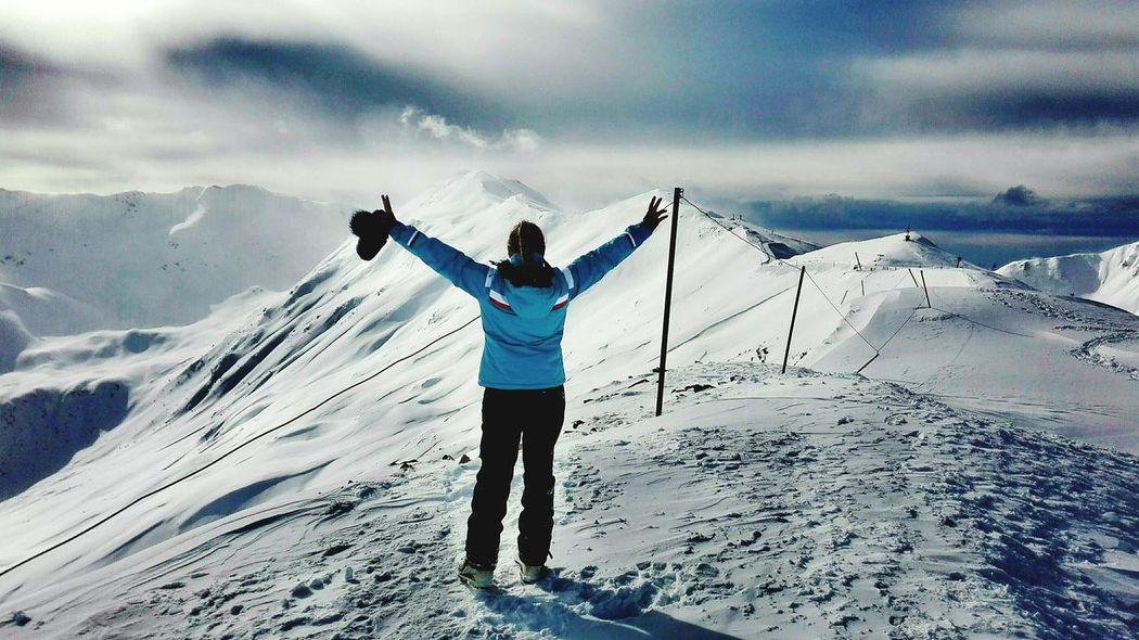 Lesorres Snowattack Skiing 🎿 France 🇫🇷 Mountain Beautifulnature Landscape