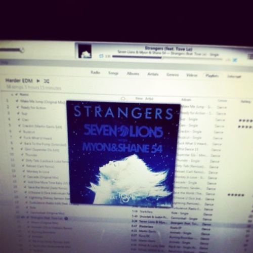 Music MusicMonday SEVENLIONS Tovelo Strangers Just came upon this track, trance and dubstep combined...