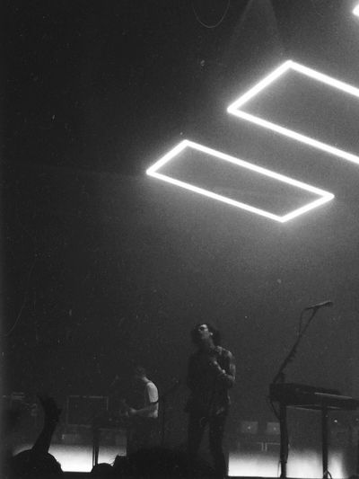 #band #blackandwhite #Concert #event #munich #music #performance #singer #the 1975 #the1975 #zenith One Person People