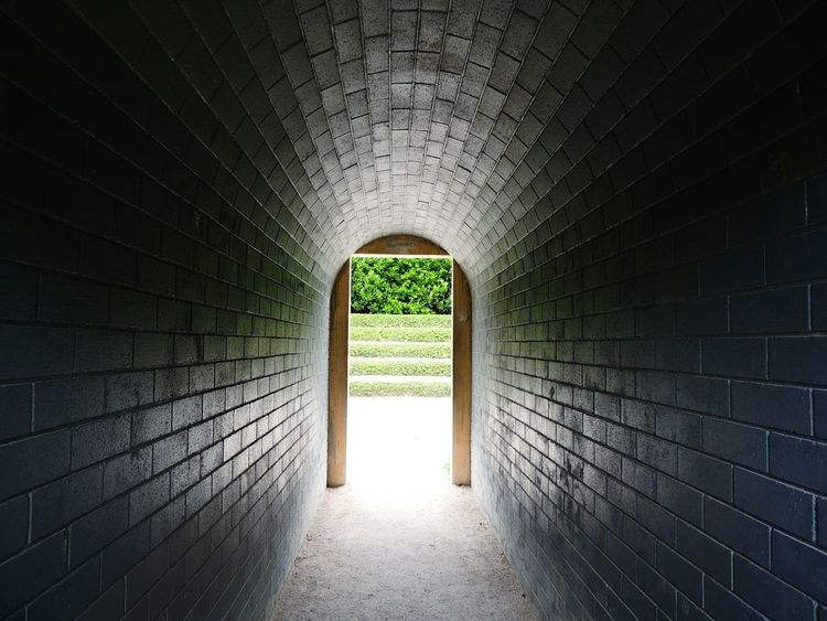 Arch Wall - Building Feature Built Structure Light At The End Of Tunnel TakeoverContrast Beautifully Organized,