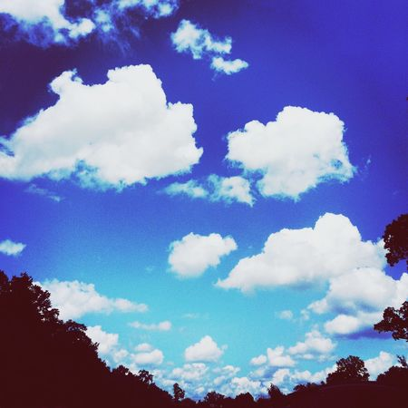 What Does Peace Look Like To You? Sky And Clouds