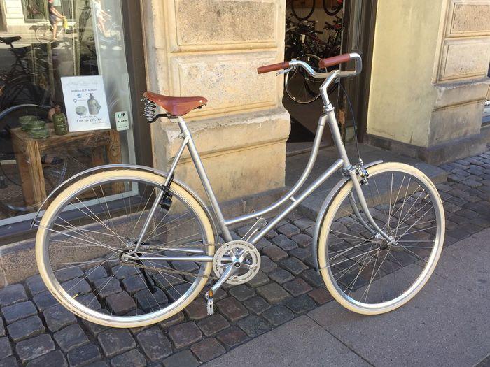 Saga Cykler Handbuilt Singlespeed Classic Nice Ride Urban Transit