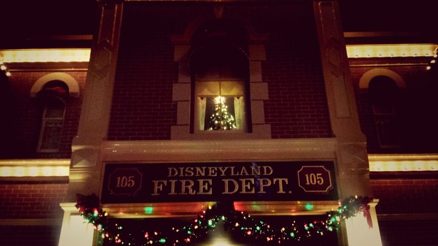 Good Night Disneyland. Merry Christmas Walt.