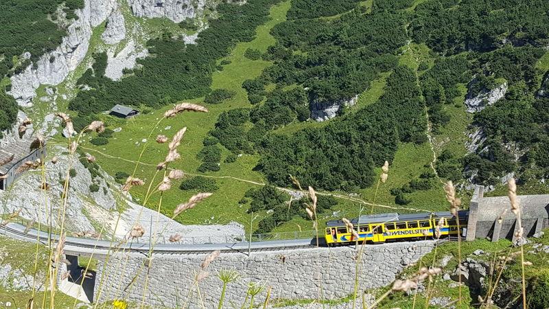 Outdoors Zahnradbahn Berg Wendelsteingebirge