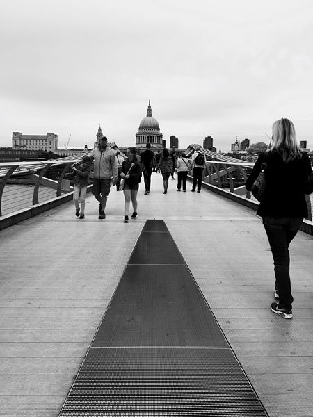 Over the bridge Shades Of Grey Architecture Urban Landscape London Calling Eye4black&white  Monochrome B&w Street Photography London Lifestyle EyeEm LOST IN London Postcode Postcards