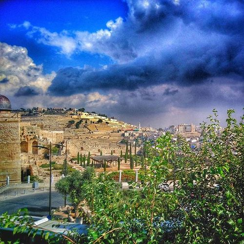 A view from the Temple Institute steps TempleInstitute . Jerusalem Jewishquarter Israel