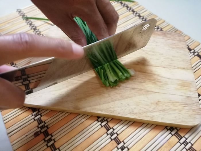 Human Hand Cutting Board Wood - Material Preparation  Vegetable Men Close-up Food And Drink Kitchen Knife Preparing Food Knife Cutting Raw Food Bunch
