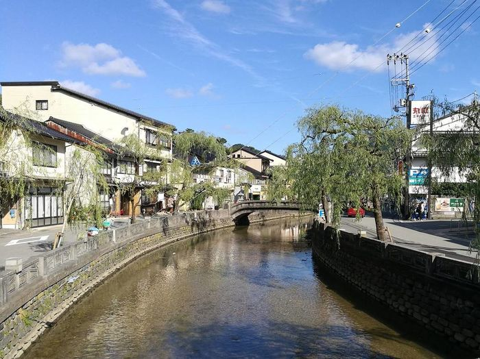 Water Cloud - Sky Sky Architecture Building Exterior Day Built Structure KinosakiOnsen Outdoors Tree Blue City No People