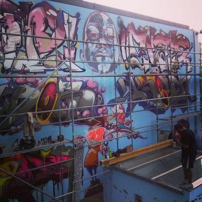 Draw Fame Graffiti Graffitilife Halloffame Maia  Oporto Porto