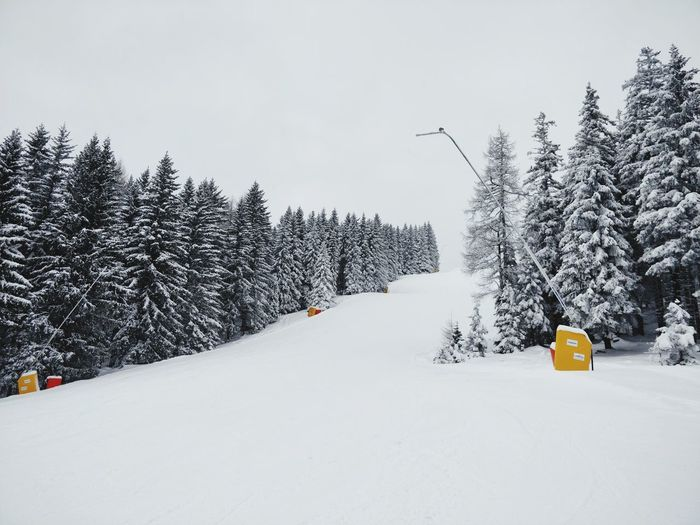 A skislope in
