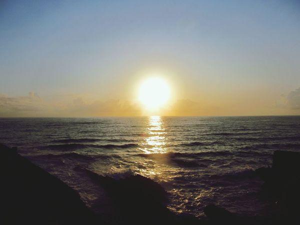 Sunset lobe this one.. Beautiful Sunset Watching The Sunset Beach Photography The Environmentalist – 2014 EyeEm Awards
