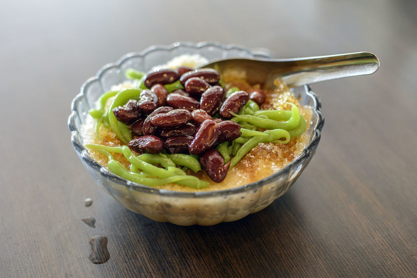 Beans Bowl Chendol Chendul Close-up Dessert Food Freshness Indoors  No People Penang Food Ready-to-eat Table