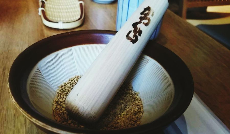 Japan, food, sesame, travel, restaurant, Sesame Seeds nature tone Joyful Meal Japan F&b Authentic Travel Restaurant Nature Tone