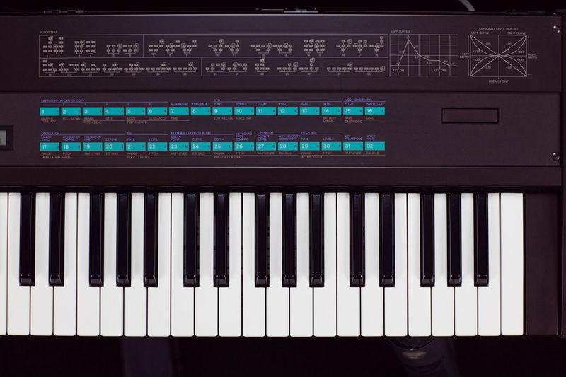 DX-7 Dx7 Fm FM Synthesis Frequency Modulation Legend Music Production Musical Instrument Synthesizer Yamaha DX 7 Yamaha DX-7 Yamaha DX7