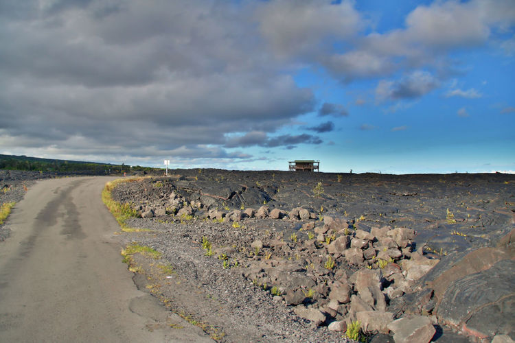 Kalapana Hawaii Big Island Hawaii Landscape Outdoors Cloud - Sky Scenics Sky Nature Tourism Travel Vacations Beauty In Nature Nature Hawaii Life Tourist Panoramic USA Volcano Stone Agriculture No People Beach Social Issues Day Astrology Sign