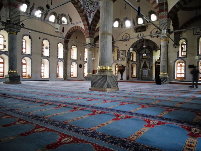 Mosque Muslim Place Of Worship Worship Arch Architectural Column Architecture Built Structure Corridor Day History Indoors  No People Place Of Worship Religion