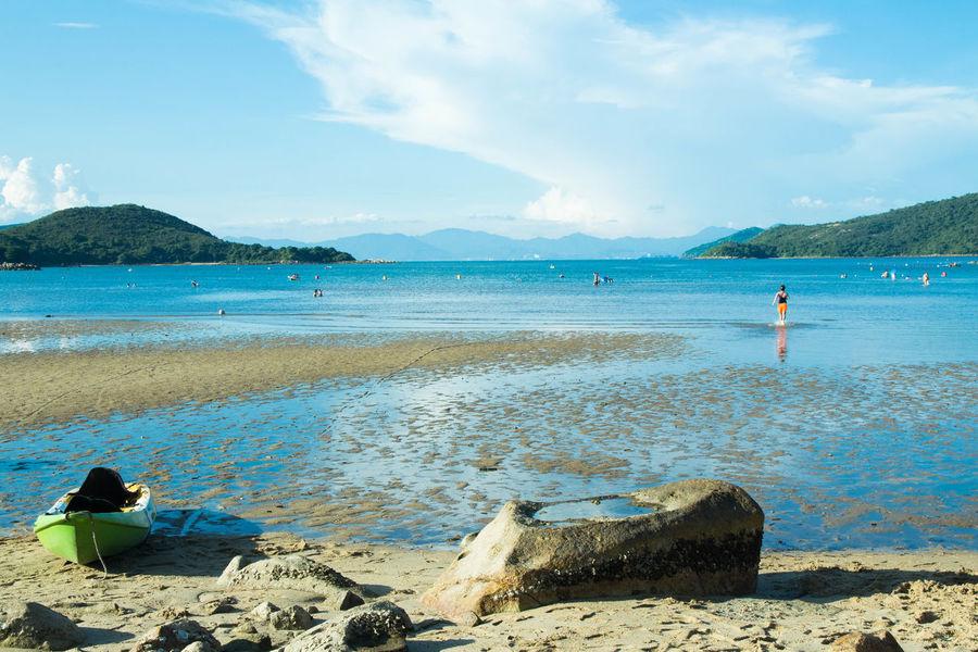 Beach Blue Sky Hoi Ha Wan Holidaymood HONG KONG BEACH Saikung Sea Sky Vacations Water