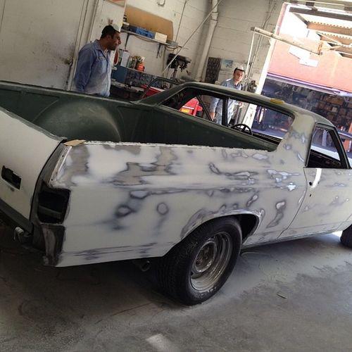 Straight Bodywork for my '70 Chevy Chevrolet Elcamino