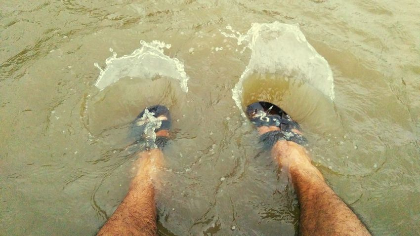 Play With Water Water Day Outdoors Lake View Enjoying The Moment I Love Water Photography One Person Nature My Style ❤