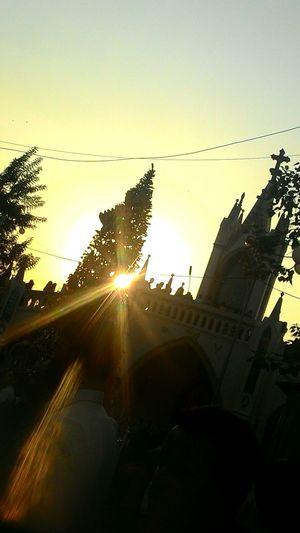 ⛪ Church SunriseSilhouette Christmastime Reflection_collection Nikongirl Nikonphotography Light And Shadow Amen