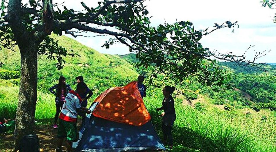 Enjoy The New Normal Camping Mt. Batulao Backpacking Hiking Adventures Mountains And Sky Squaready Squadgoalsachieved Outdoors