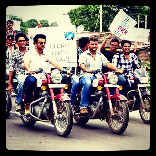 Aiims Rally College Students Bikerally Goodcause Lead Instaclick Addictedhunter Photography .