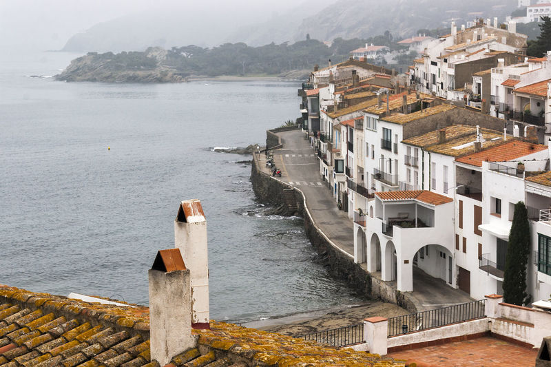 Cadaqués 04 (Gerona-Spain) Chimneys City Cityscape Cloudy Day Coastline Mediterranean Landscape Mediterranean Sea Mediterranean Seascape Panoramic View Residential Structure Roofs Rural Scene Scenics Seascape Seascape Photography Seaview Tranquility Tranquility Tranquillity View From Above Viewpoint Village Life Village Lifestyle Village Photography Village View