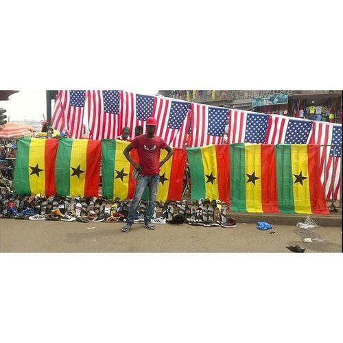 The love for your country and the American Dream Photocred: Enoch Robot Boy Appiah Jr. (©2016) Photowalk Ghana Ghana360 AndroidPhotography Mobilephotography Nofilter Kumasi HDR Vscocam Afterlight Landscape People