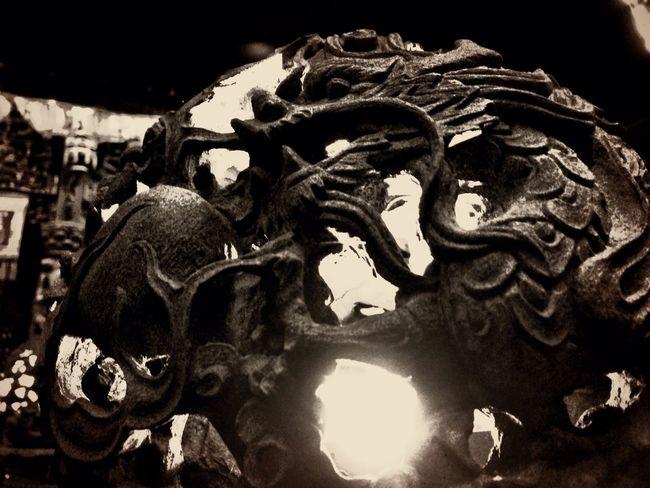 神龍 Dragon Sculpture Night Lights