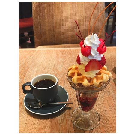 Dessert Ice Cream Food And Drink Drink Coffee Perfait Sweet Food Sweets Indulgence Ready-to-eat Cafe EyeEm Gallery 🍒🍓🍨