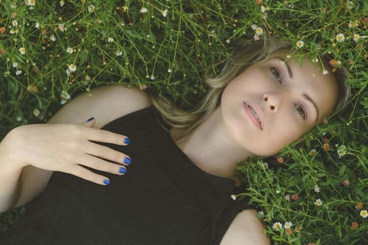 Anastasia Natbordophotography Plant Leisure Activity One Person Real People Lifestyles Nature My Best Photo Lying Down Women Grass Land High Angle View Day Headshot Green Color Portrait Young Women Outdoors My Best Photo
