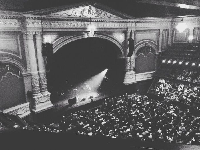 Visited Carré theatre in Amsterdam to see Dotan. Beautiful place. Amsterdam Carré Dotan Theatre Blackandwhite OpenEdit