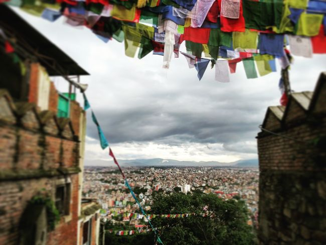 Hanging Flag Architecture Travel Destinations Built Structure Sky Multi Colored Spirituality No People Cloud - Sky Day Outdoors Building Exterior Nepal EyeEmNewHere Nepali Way Nepal Travel Nepaliculture Kathmandu, Nepal Kathmandu Kathmandu Valley Kathmandu Diaries Kathmandu Nepal Flying High Neighborhood Map