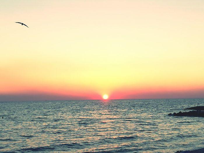 Sunset in Porec First Eyeem Photo