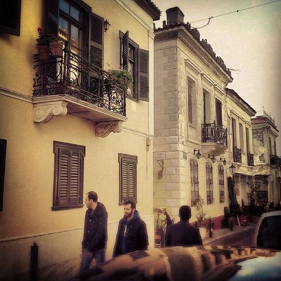 Walking in the old streets of Thisio,Athens,feels like 19th century with those beautiful listed buildings around. Athens Thisio Monastiraki Athina greece photography love new awesome center old century 19 followme like4like instagreece iphonesia instadaily wu_greece walking great parthenon kiss photooftheday