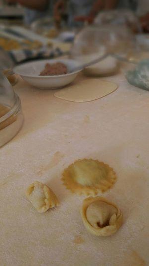 Making italian pasta! Pasta Ripiena Plin Tortellini  Ravioli Italian Food Tradition Cookingtime  Table Raw Food Focus On Foreground Close-up Food Food And Drink Indoors  High Angle View Preparation  Freshness Still Life Kitchen