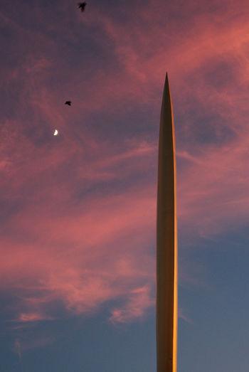 Golden pillar