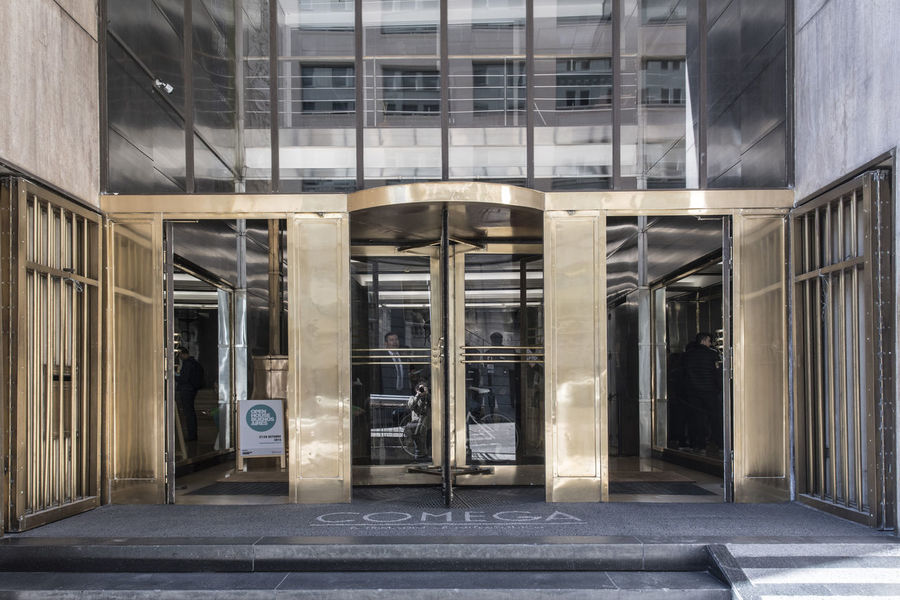 Architecture Built Structure Building Exterior Entrance Building Door Glass - Material No People Day City Modern Outdoors Empty Office Sunlight Absence Architectural Column Transparent Tiled Floor Ceiling Edificio Comega Comega Buenos Aires 💙 Argentina Buenos Aires, Argentina