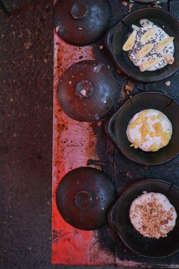 Serabi a.k.a Indonesian Pancake Foodphotography Snack Indonesian Pancake Traditional Food Indonesian Food Serabi Sweet Food Food Styling EyeEmNewHere Food EyeEm Selects Egg Yolk Egg Close-up Pancake Prepared Food