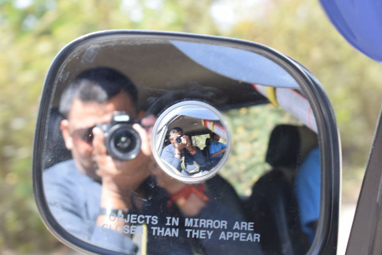 Photography Themes Reflection Mirror Looking At Camera Selective Focus Leisure Activity Day People Technology Cheerful Streetphotography Travel Outdoors India Indian Camera Practice Live For The Story