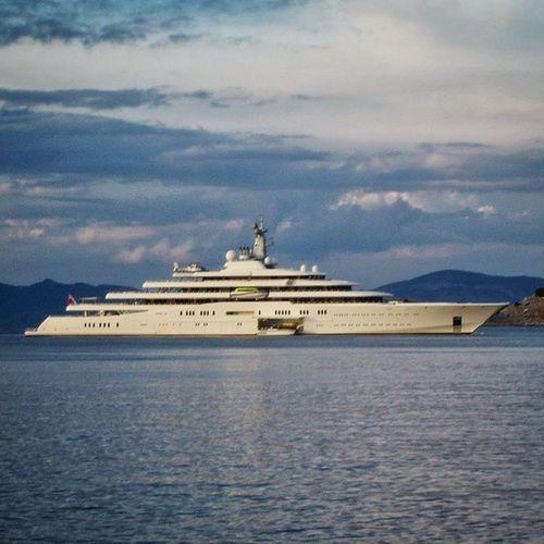 Eclipse Yacht Abramovich Milliardaire luxus luxusyacht