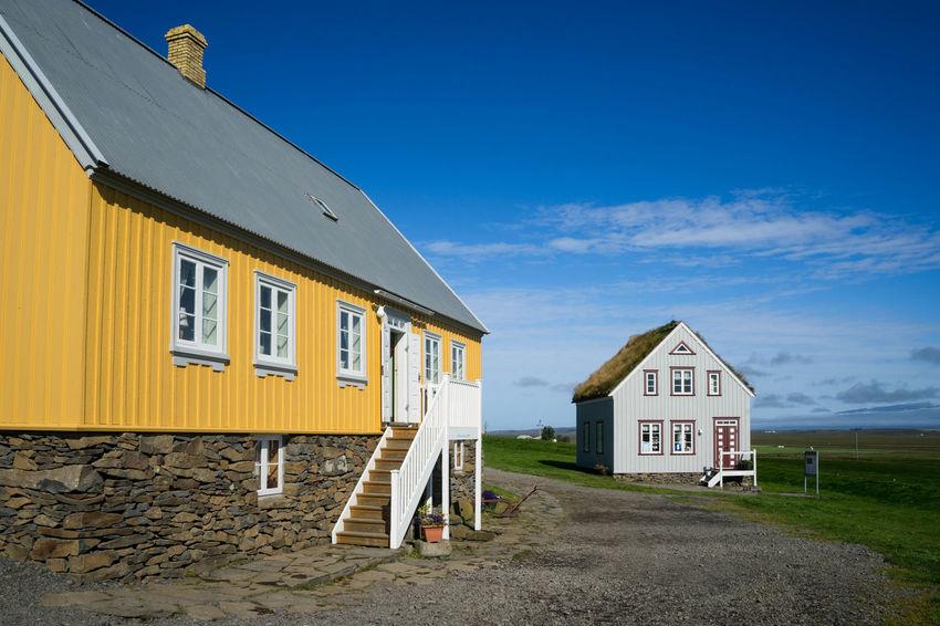 Iceland Iceland Trip Islanda Skagafjörður Icelandic House Nature Outdoors Land Cottage Building Built Structure Road No People
