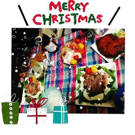 ⭐⭐⭐手抜きクリスマスディナー✴ クリスマス イブ 夜ご飯 手抜き でも 美味しかった