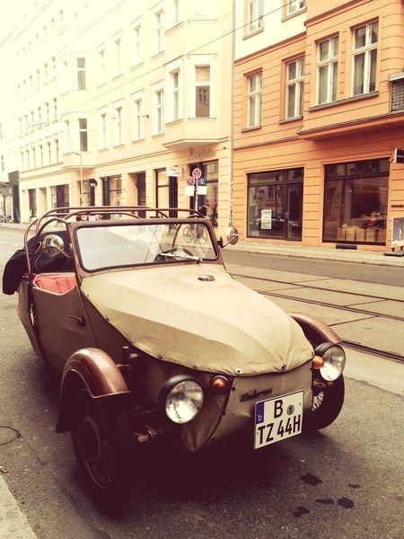 Vintage Vintage Cars Cars Threewheel Threewheeler Berlin Berlinmitte