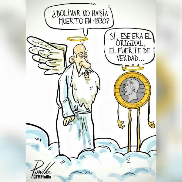 CARICATURA DIARIO LA VOZ Bolívar ya no había muerto?? Woiworld_resto Venezuelacambia Venezuelaunida VenezuelaSomosTodos LosVenezolanosPuedenVivirMejor VenezuelaMuereTuCallas VenezuelaDespierta