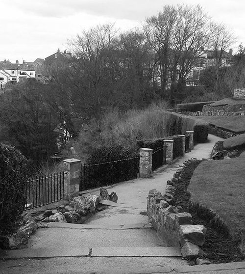 Knaresborough Castle Footpath Blackandwhite Black And White Black & White Blackandwhite Photography