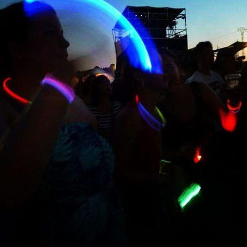 Myweekofbestof2015 Benicassim2015 SPAIN Festival Friends Glowsticks Fingerlights Music Thebig30